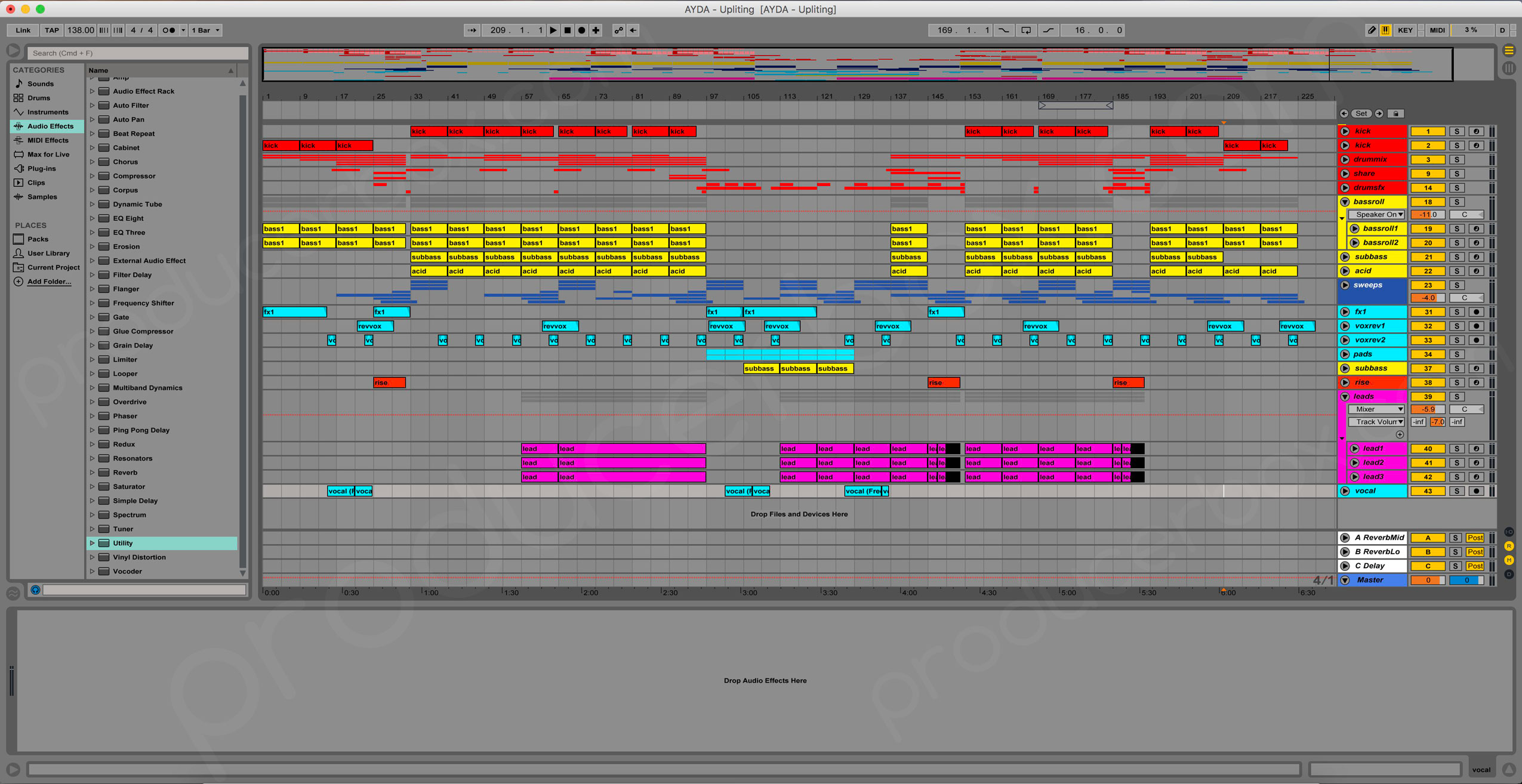 Dance Uplifting - Energy Trance - Ableton Live Template | ProducerBox