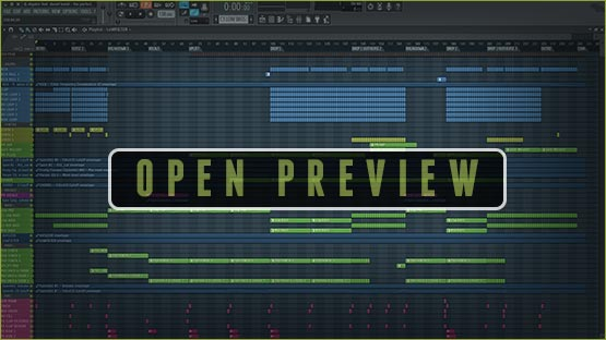FL Studio Project Window Screenshot Preview