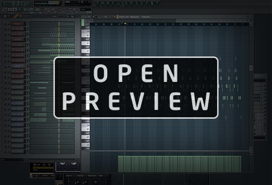 FL Studio Template Project Screenshot Preview Image