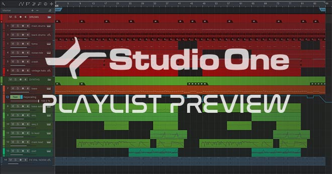 Studio One Synthwave Template Vol. 2