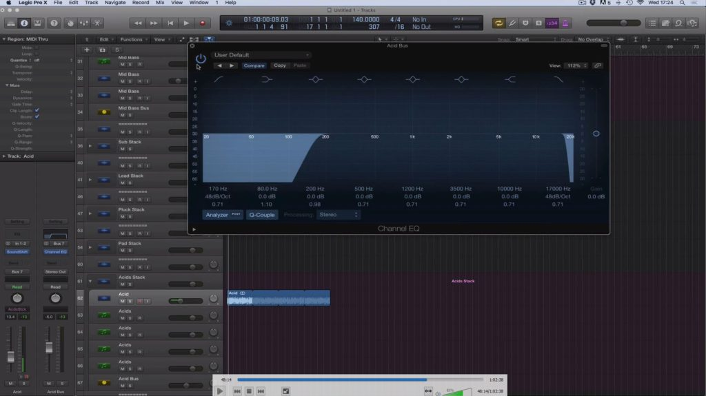 Adam Ellis - Logic Pro Tutorial Vol. 2 - Structure & Starting Track Screenshot #3