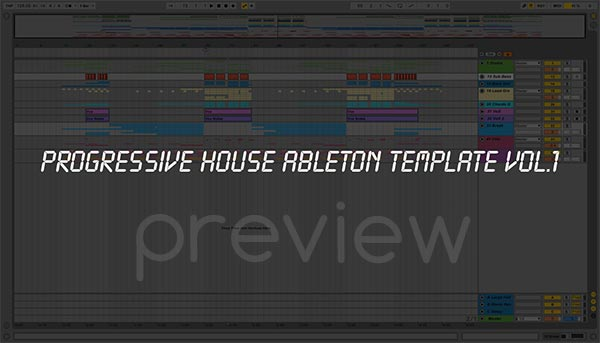 Ableton Live Template Preview