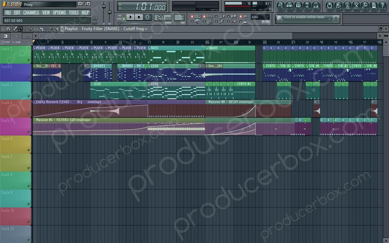 Remake Of Martin Garrix - Proxy FL Studio Template (SM Remake ...
