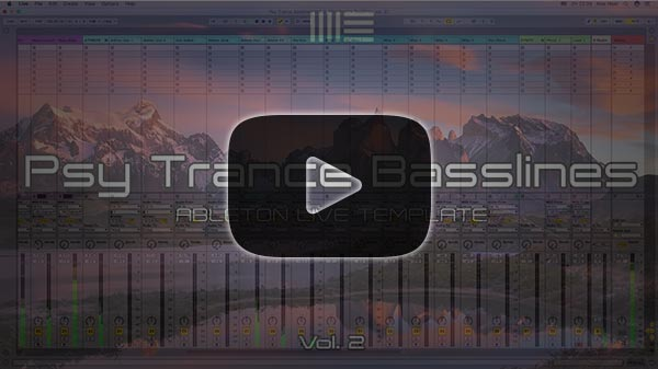 Ableton Live Template Project Video