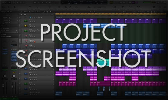 Logic Pro X Project File Screenshot Window Preview