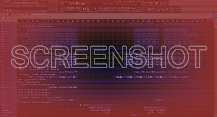FL Studio Uplifting Emotional Vocal Trance Template