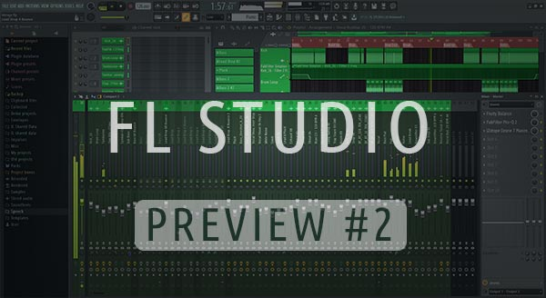 Future Bounce FL Studio Template Screen #1