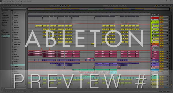 Ableton Live Template #1