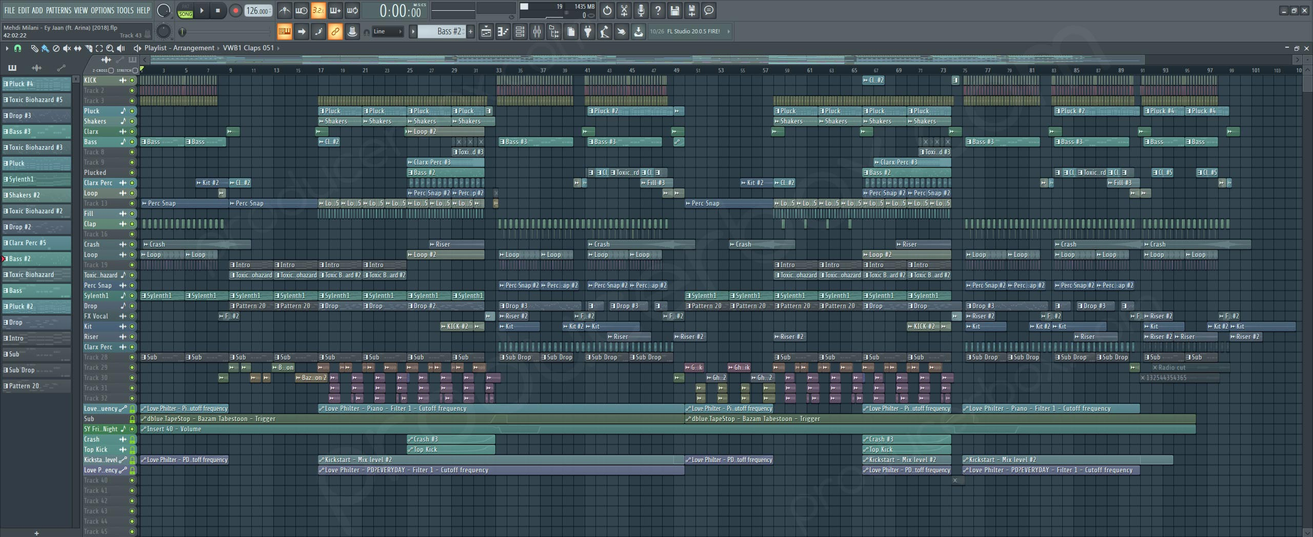 Mehdi Milani - Ey Jaan - Future House 2018 FL Studio Template | ProducerBox