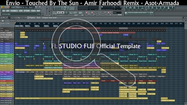 Official Trance Remix - FL Studio Template by Amir Farhoodi