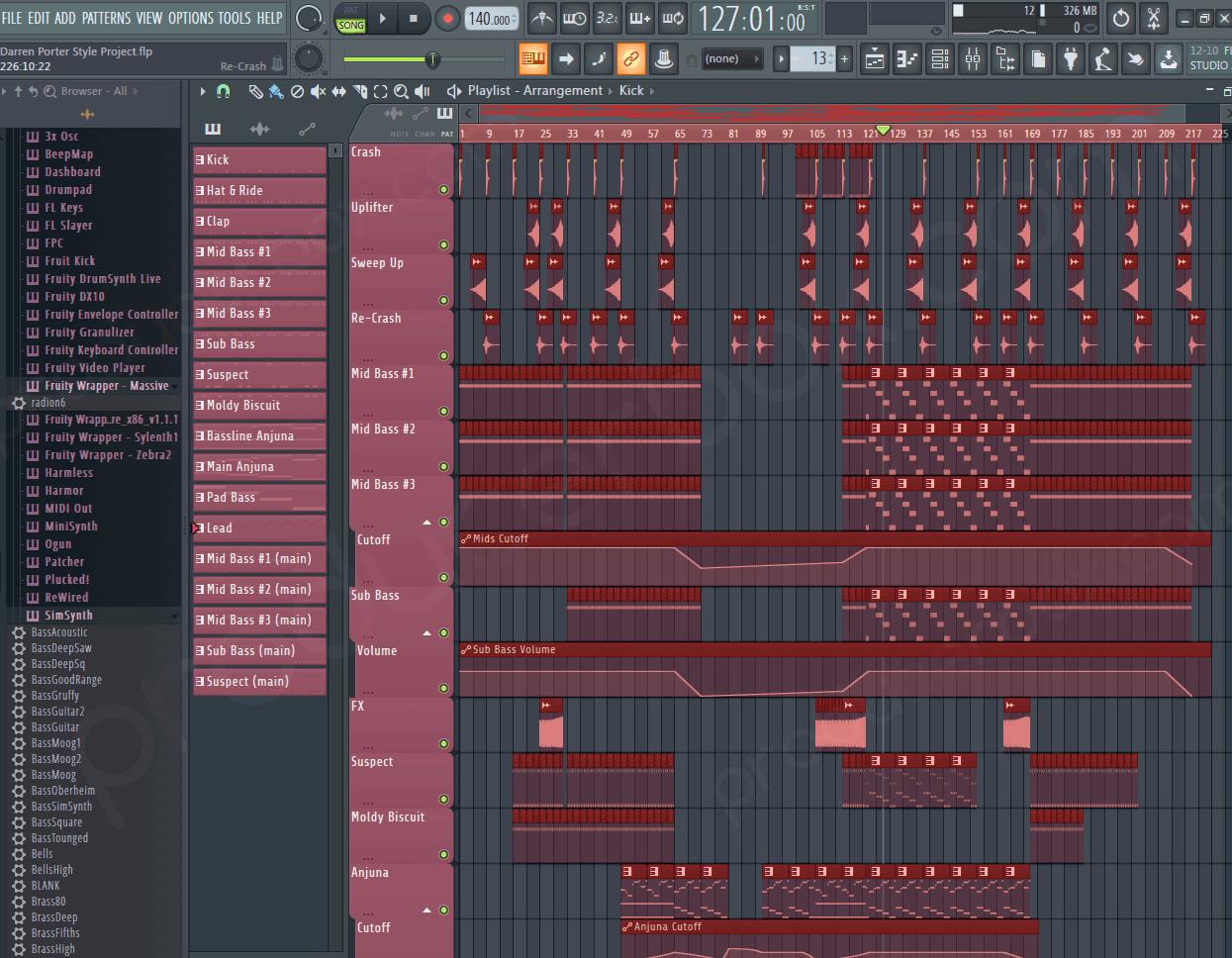 FL Studio Driving Uplifting Trance (Darren Porter Style)