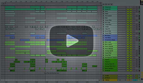 Progressive House Ableton Project (Protocol Revealed, StadiumX Style)