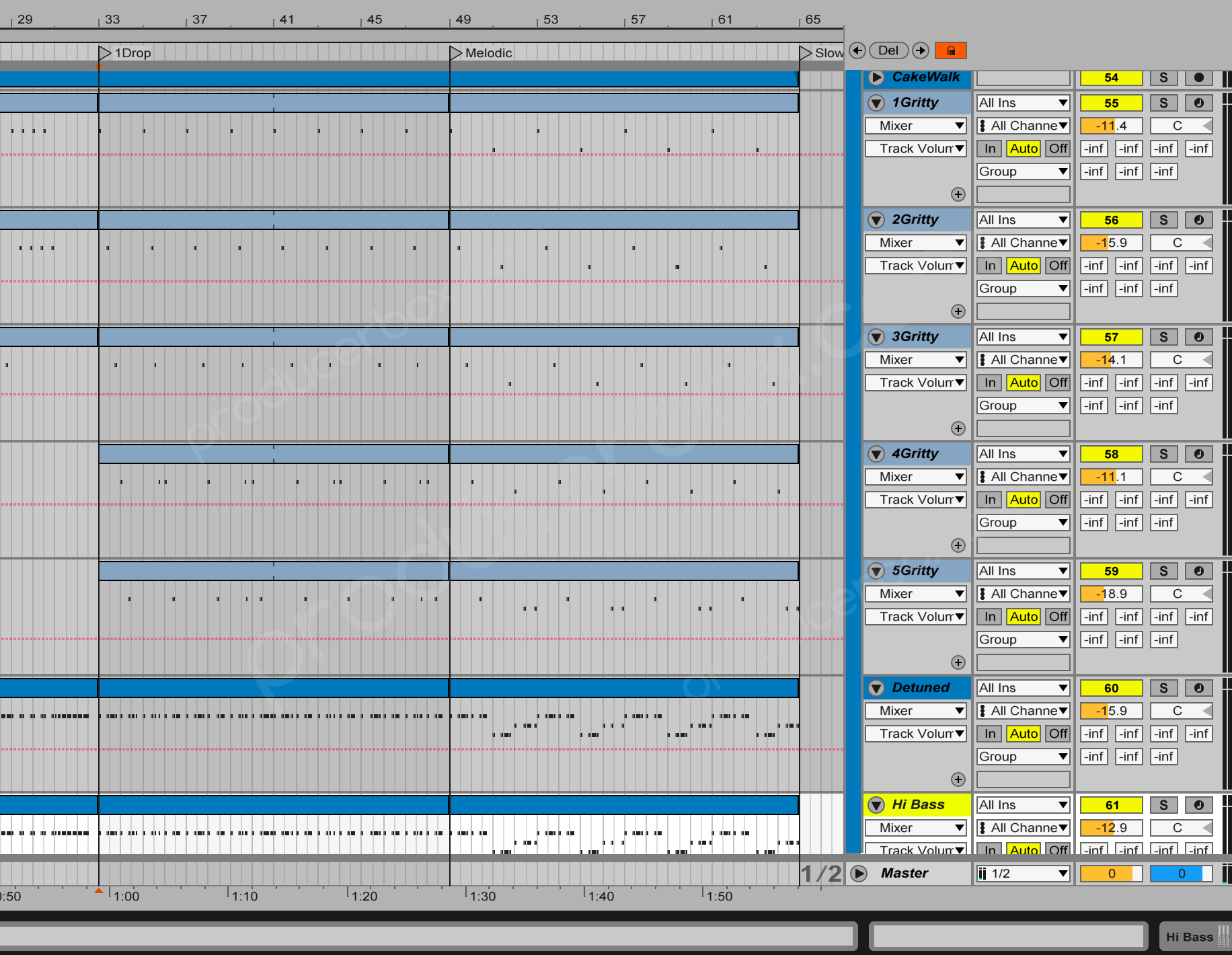 High Frequencies - Quantum - Progressive Trance Ableton Live Template