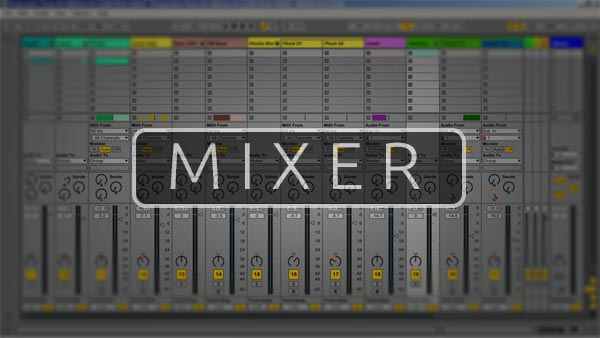 Ableton Live Mixer Preview