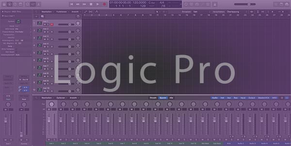 Logic Pro Startup Template Preview
