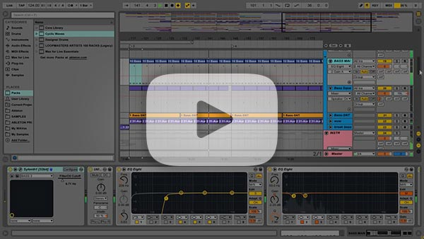Ableton Live Template YouTube Video Preview
