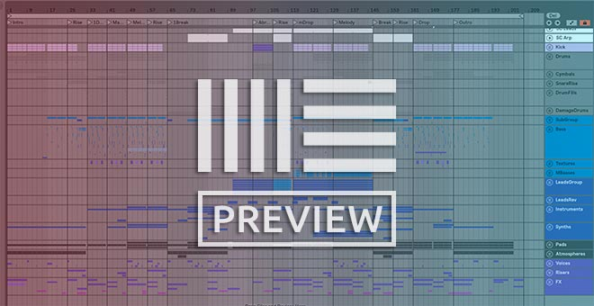 Ableton Project Preview