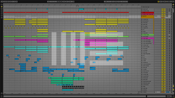 Ableton Live Anjunabeats Style Template Screenshot