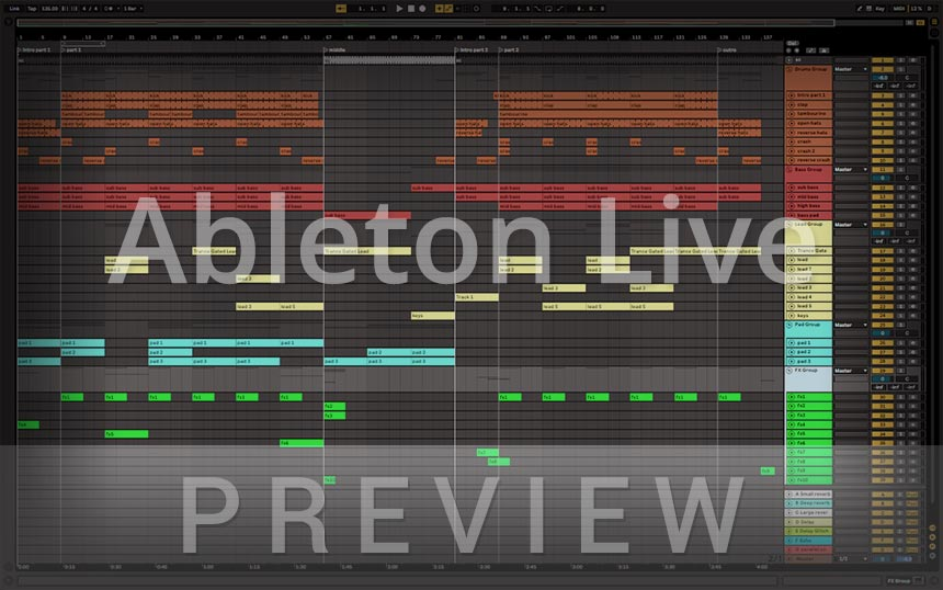 Uplifting Trance - Ableton Live Template - Somewhere In The Night