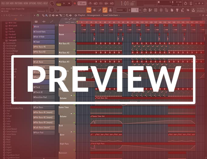 FL Studio Uplifting Trance Template (Allen Watts Style)
