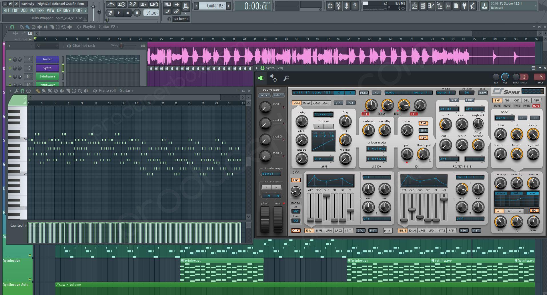 FL Studio Project / Template (FLP) Preview #1