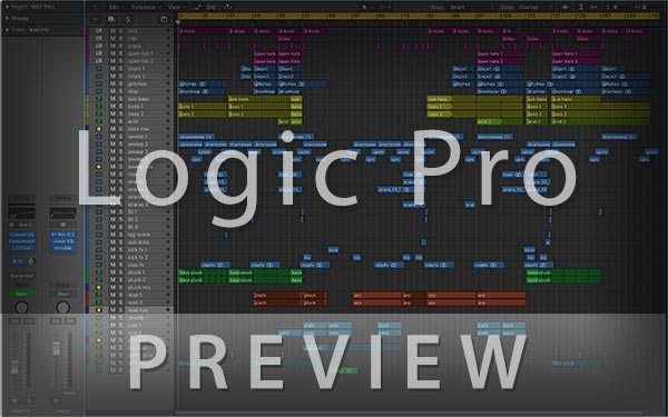 Logic Pro Image Preview