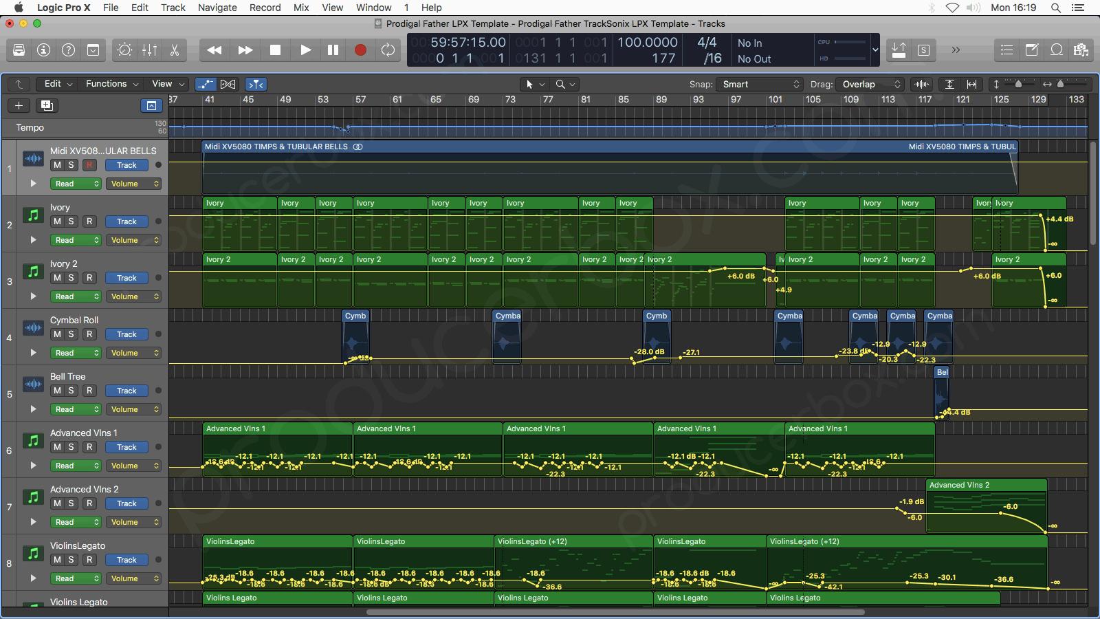 Logic Pro Arrangement Preview #2