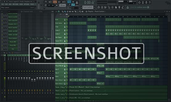 FL Studio Project Window Image Screenshot