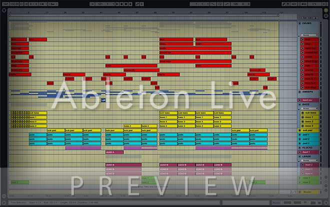 Melodic Proglifting Trance (Played in ASOT) Ableton Live Template