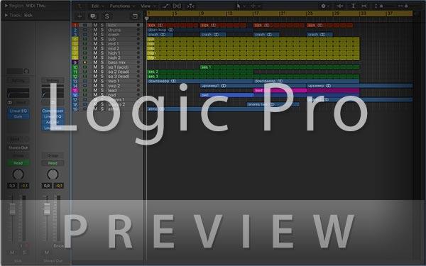 Logic Pro Screenshot Preview
