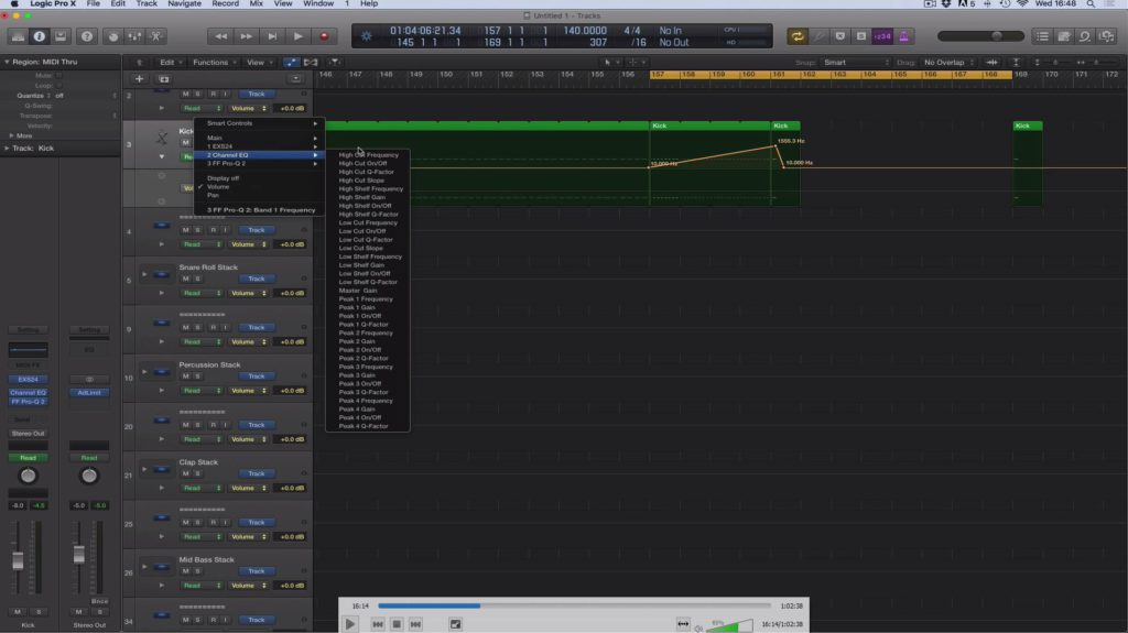 Adam Ellis - Logic Pro Tutorial Vol. 2 - Structure & Starting Track Screenshot #1