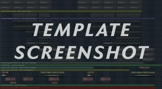 FL Studio Template Project Preview Screenshot