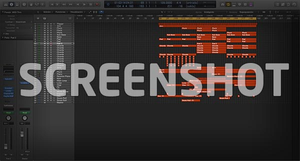 Logic Pro Screenshot Project / Template