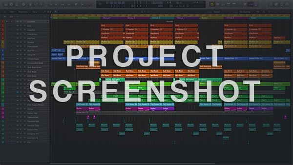 Logic Pro Template / Project Preview Screenshot
