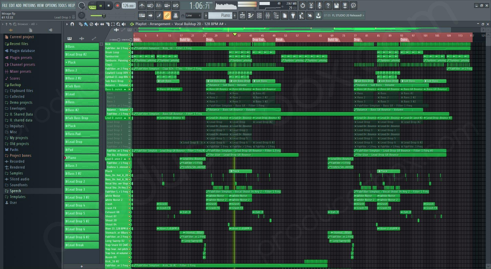 Mirage - Future Bounce FL Studio Template