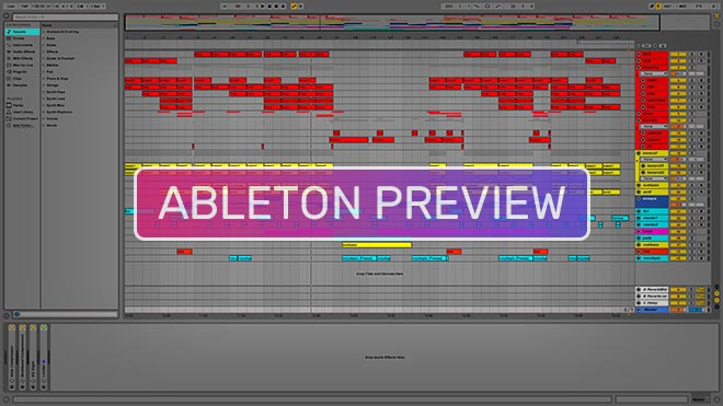 Ableton Template Download Preview