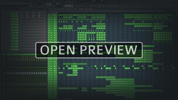 FL Studio Project Template Preview