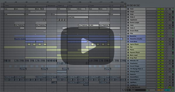 Progressive Trance Ableton Project (Anjunabeats, Above