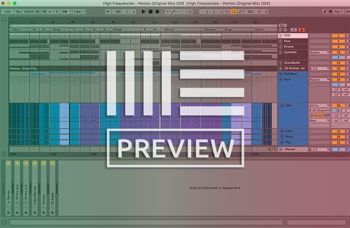 Progressive Trance Ableton Template Vol. 9 (Anjuna, FSOE Style)