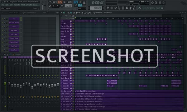 FL Studio Template Project Preview Screenshot Image