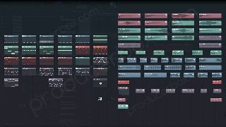 frainbreeze psy orchestral trance fl studio template screen 2
