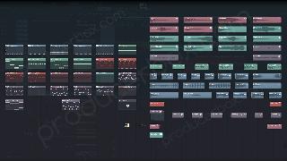 frainbreeze psy orchestral trance fl studio template screen 2