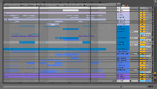 Ableton Live Project Screenshot