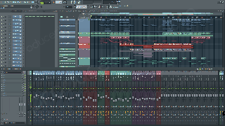 frainbreeze psy orchestral trance fl studio template screen 1